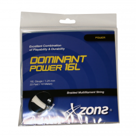 CUERDA SQUASH ZONS DOMINANT POWER 16L (1.25mm)