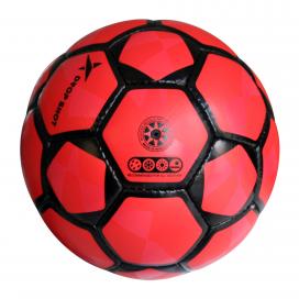 Balón SOCIETY Nº4 Rojo/Negro