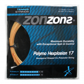POLYMO HEXPLOSION 17 (1.23mm) Oro - Set