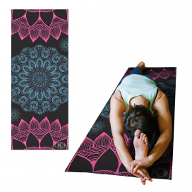 Yoga Mat LIFE SPIRIT Grafito