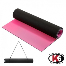 YOGA MAT PREMIUM DOBLE TONO 6MM FUCSIA