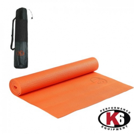 YOGA MAT 4MM NARANJA