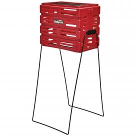 Canasto Recoge Pelota Plástico BALLPORT Rojo
