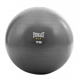 Balón Pilates 75 cm FIT EVERLAST Gris