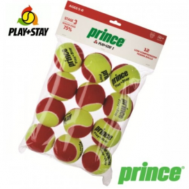 PELOTAS STAGE 3 PLAY+STAY X 12 PRINCE