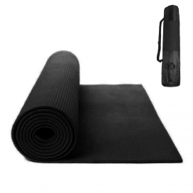 Yoga Mat K6 5mm Negro (con funda)