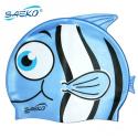 Gorra SILICONA FISH Azul