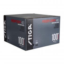 Pack 100 pelotas PERFORM 40+ blancas