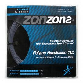 POLYMO HEXPLOSION 16L/1.28mm Plata - Set