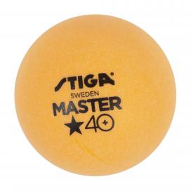 Pelota STIGA 6 PACK MASTER 1 STAR Naranjo